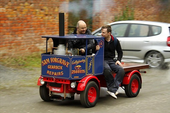 Sam Forgrave's steam lorry